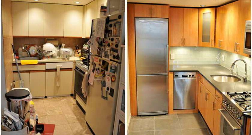 Small Kitchen Remodel Before After Design