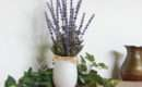 Small Lavender Artificial Flower Arrangement Eccentrichermit