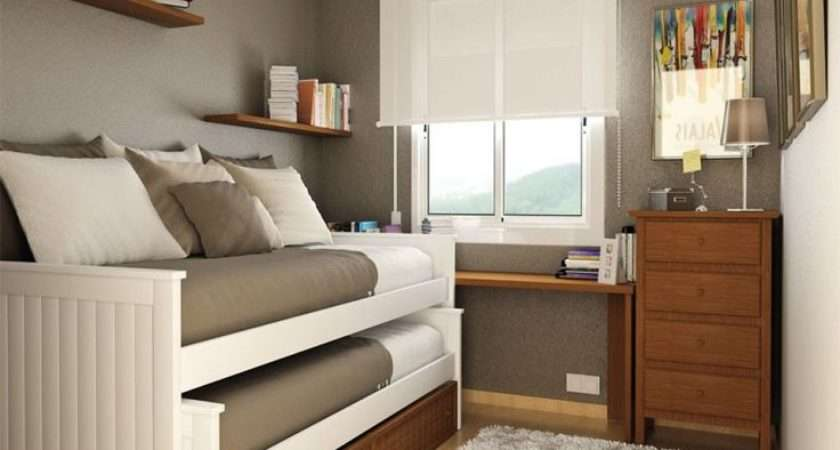 Small Room Design Double Loft Style Bed