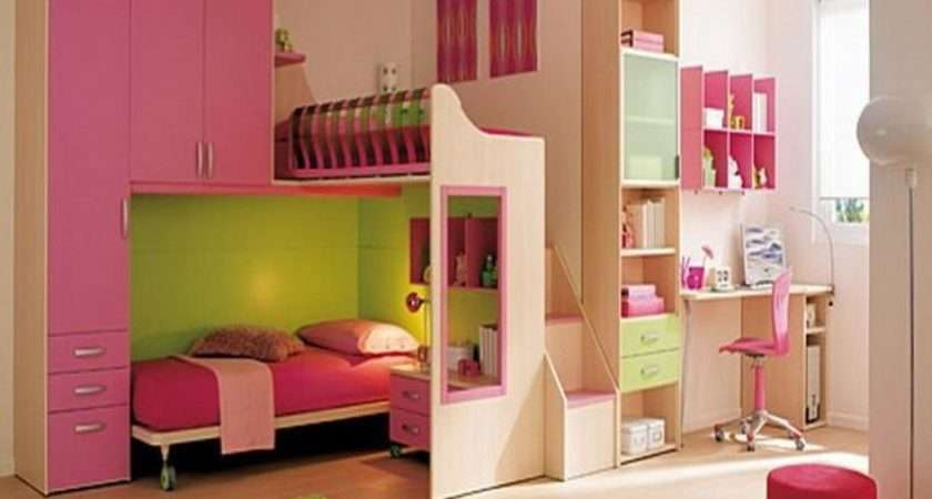 Small Room Ideas Girls Cute Color Bedroom