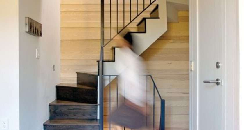Small Space Staircase Design Ideas Remodels Photos