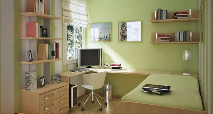 Small Space Study Room Design Ideas