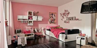 Small Space Teens Room