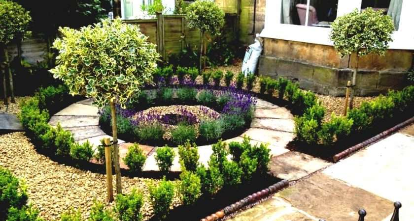Small Terraced Front Garden Designs Home Decorating