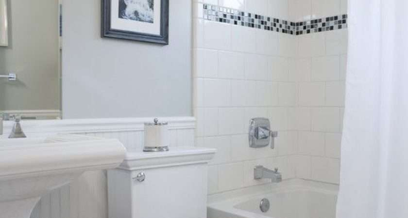 Small Traditional Cape Cod Style Bathrooms Tub Shower Design
