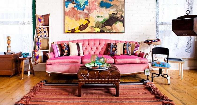 Smart Compromise Between Eclectic Bohemian Styles