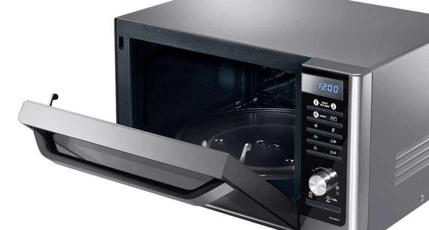 Smart Oven Litres Stainless Steel Combination Microwave Front