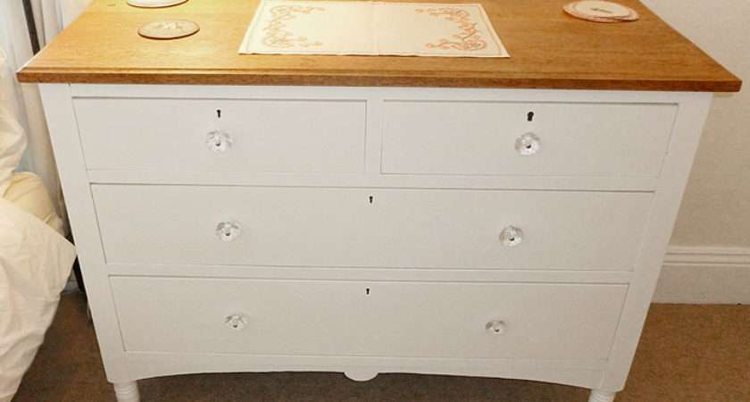 Smart Shabby Chic Chest Drawers Rees Kenyon Design