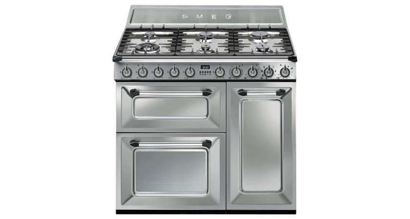 Smeg Dual Fuel Victoria Range Cooker Stainless