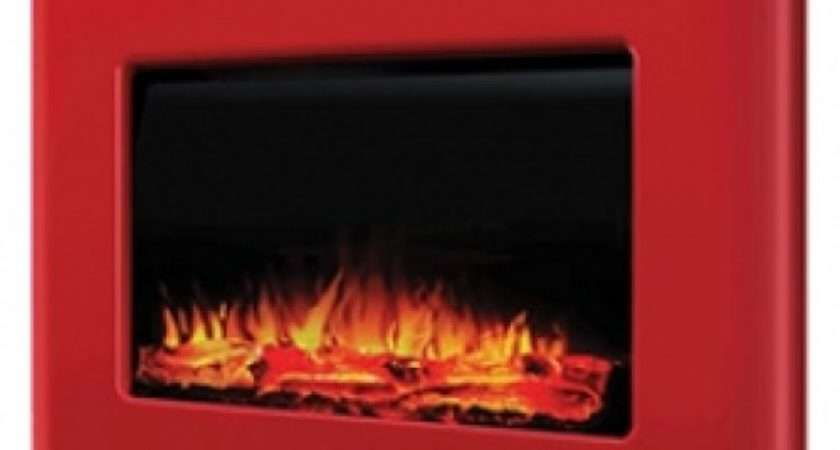Smeg Fabere Style Retro Electric Fire Red