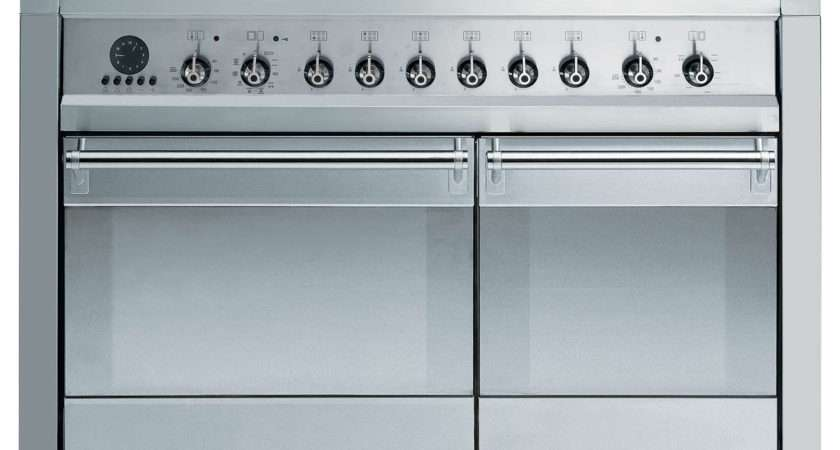 Smeg Pyid Induction Hob Range Cooker Stainless Steel