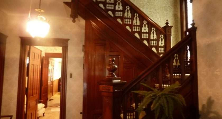 Solid Dark Wood Victorian Staircase Staircases Pinter