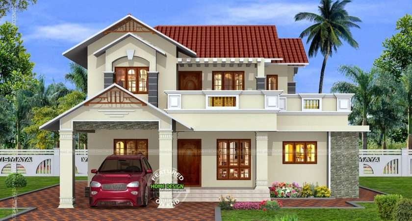 Some Beautiful House Designs Kerala Home Design Holidays