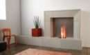 Some Ideas Contemporary Fireplace Surrounds Decor