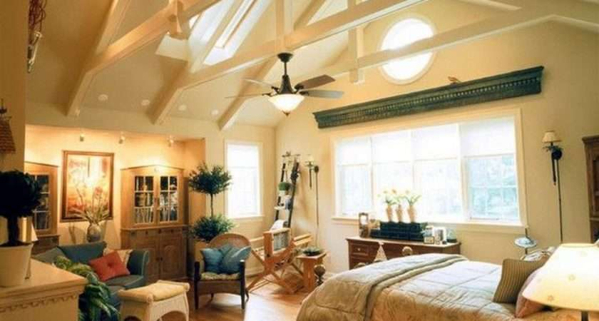 Some Vaulted Ceiling Lighting Ideas Perfect Your Home