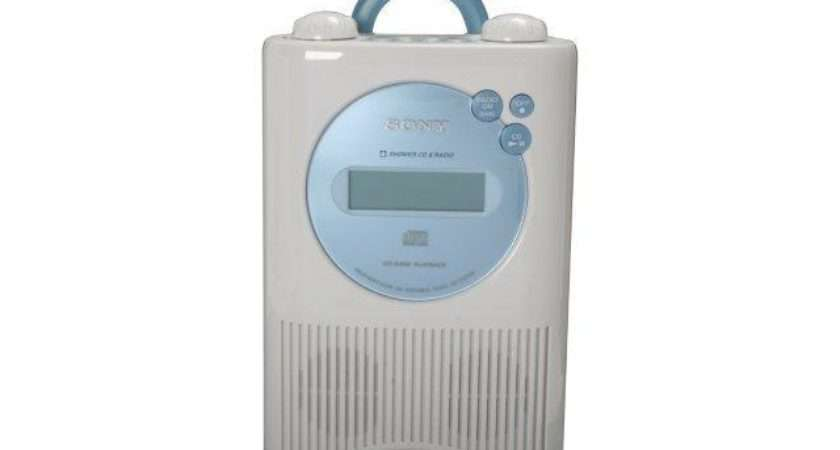 Sony Weather Band Digital Shower Radio Player Icf