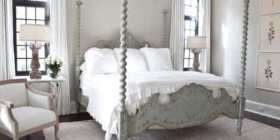 Sophisticated French Country Bedroom Four Poster Bed Hgtv