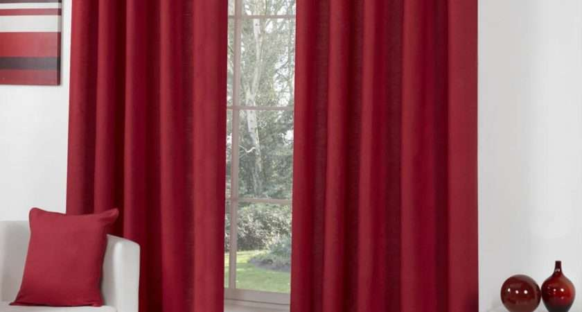 Sorbonne Lined Eyelet Curtains Cotton Ready Made Ring