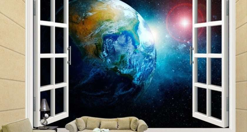 Space Bedroom Aliexpress Buy Stereo Window