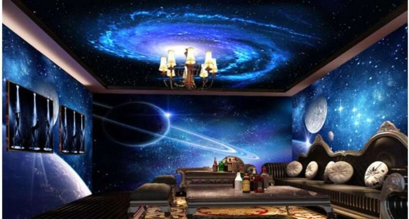 Space Bedroom Cool Star Theme