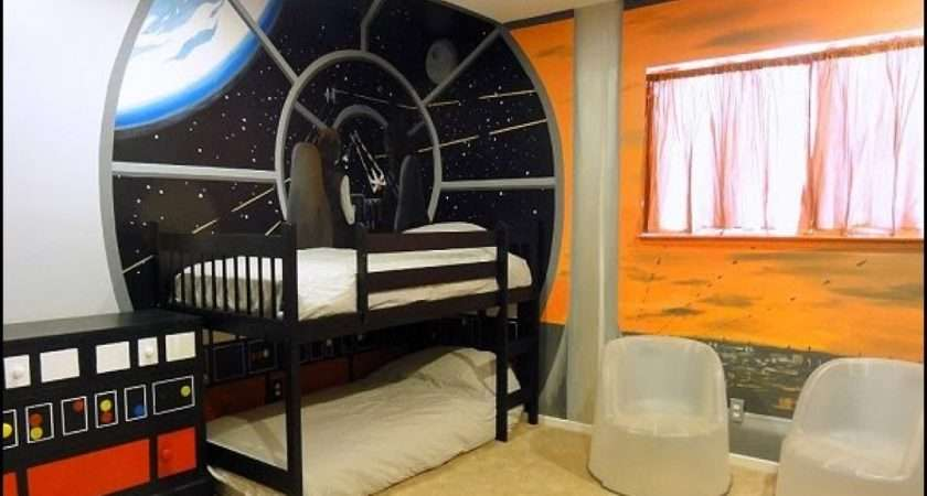 Space Bedroom Decor Outer