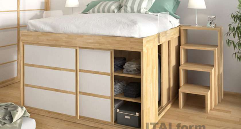 Space Saver Bed Home Design