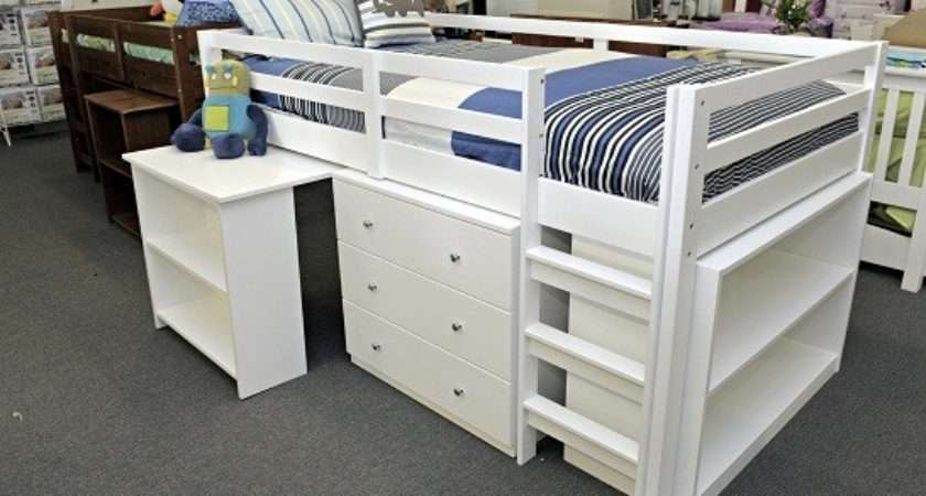 Space Saving Bookcases Girls Boys Trundle Bunks Midi