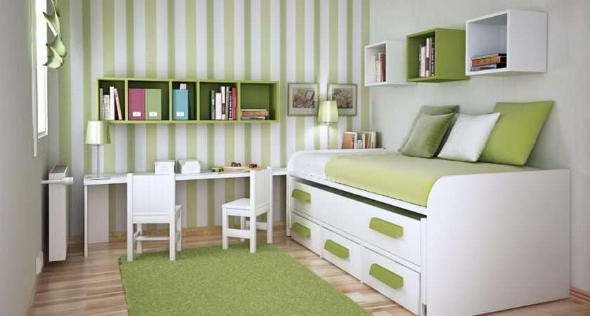 Space Saving Ideas Small Kids Rooms Wall Design