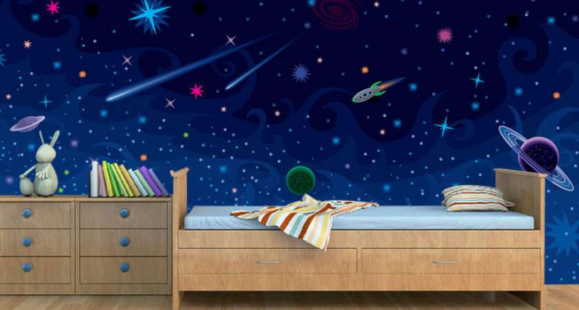 Space Theme Kids Room