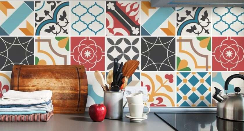 Spanish Kitchen Tile Stickers Compilation
