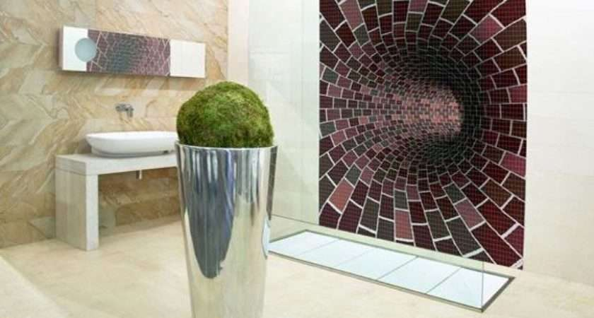 Spectacular Mosaic Tile Designs Modern Bathroom Decorating