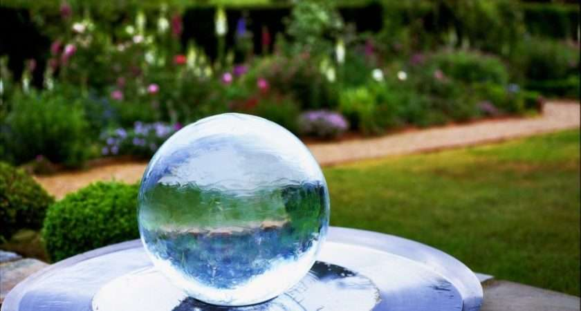 Sphere Water Fountain Other Sizes Available Stainless Steel