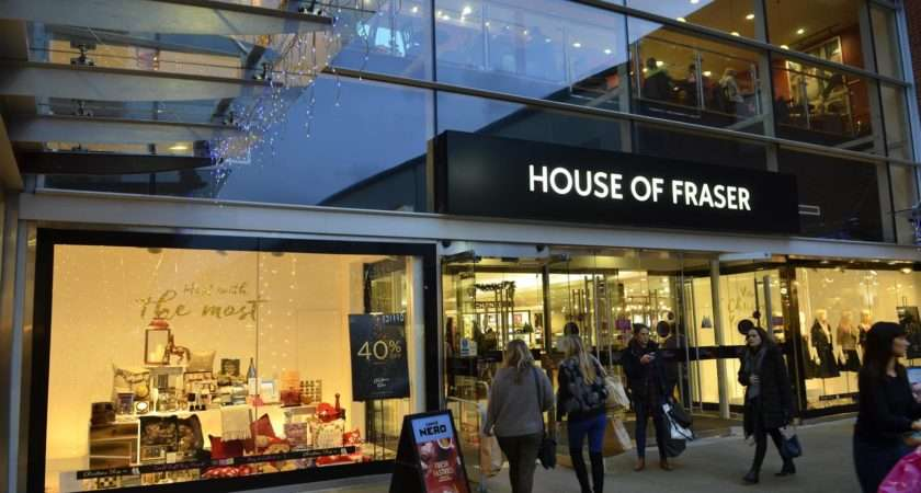 Sports Direct Buys House Fraser Administration