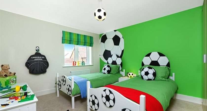 Sports Themed Bedrooms Football Theme