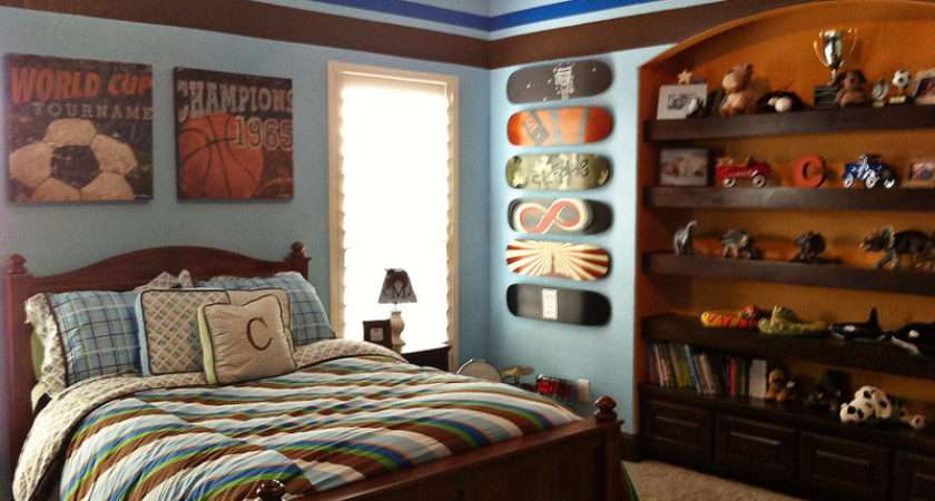 Sports Wall Office Ideas Big Boy Bedrooms