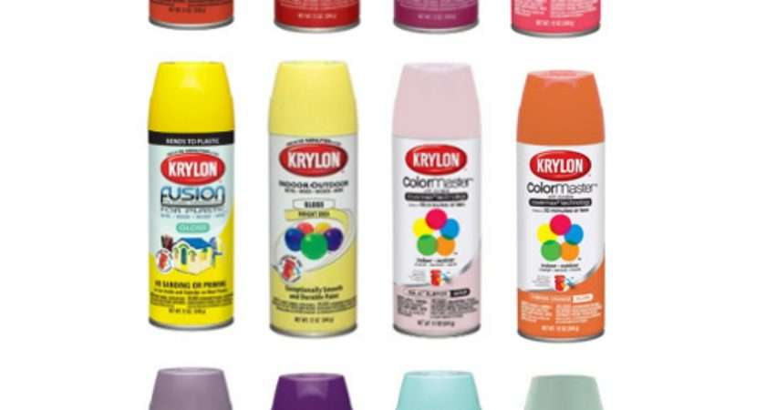 Spray Paint Colors Plastic Home Painting