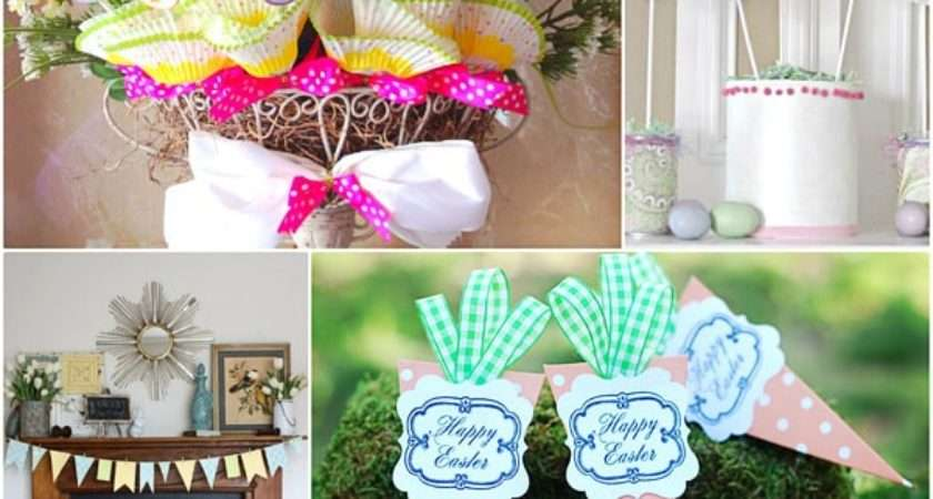 Spring Easter Craft Ideas