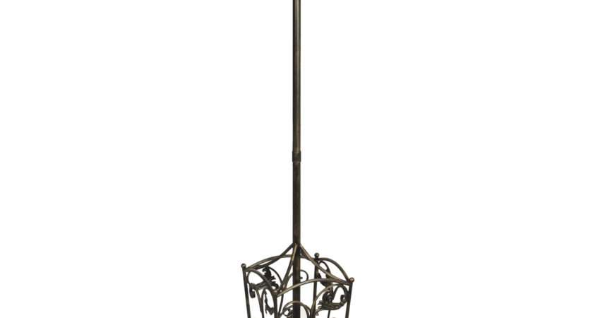 Square Hat Coat Umbrella Stand Antique Bronze Finish
