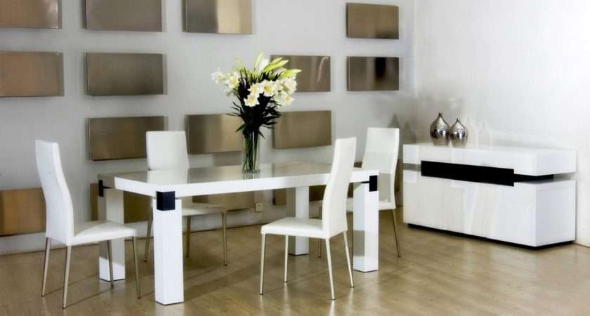 Square Modern Dining Tables Decoration Home Ideas