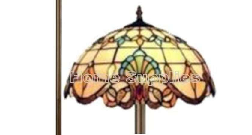 Stained Glass Tiffany Style Handcrafted Floor Lamp Ebay