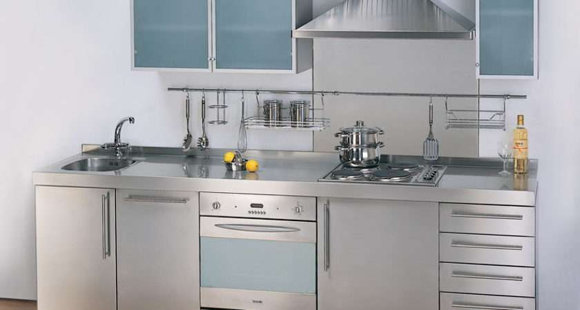 Stainless Steel Kitchen Casual Cottage