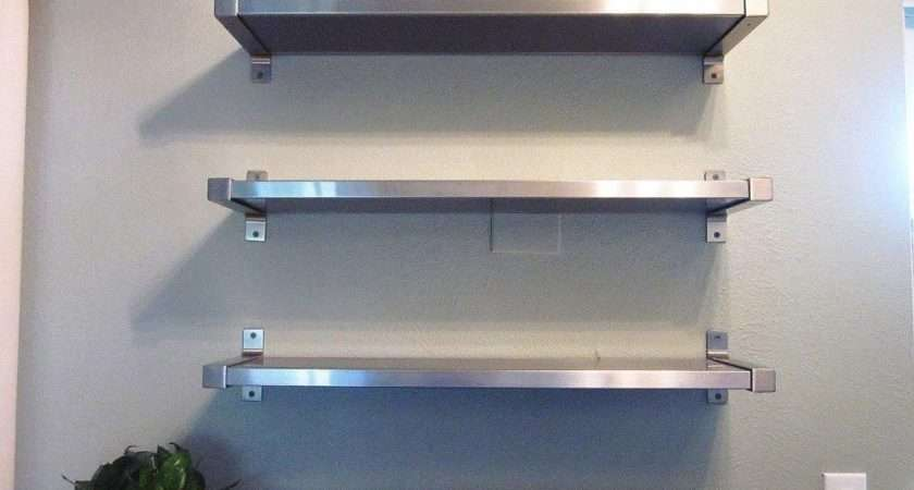 Stainless Steel Kitchen Shelves Designs Ideas Awesome