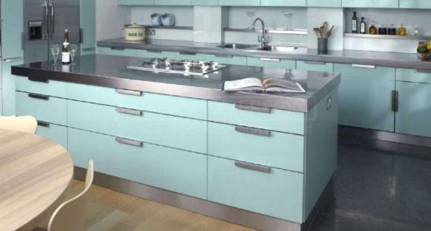 Stainless Steel Kitchen Units Made Measure