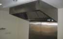 Stainless Steel Kitchen Wall Cladding Extraction Canopy