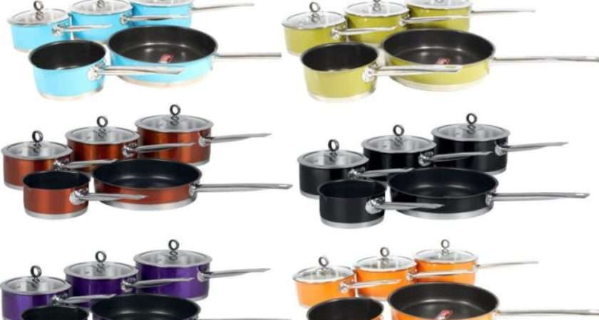 Stainless Steel Saucepan Set Induction Hob Pan All Types Ebay