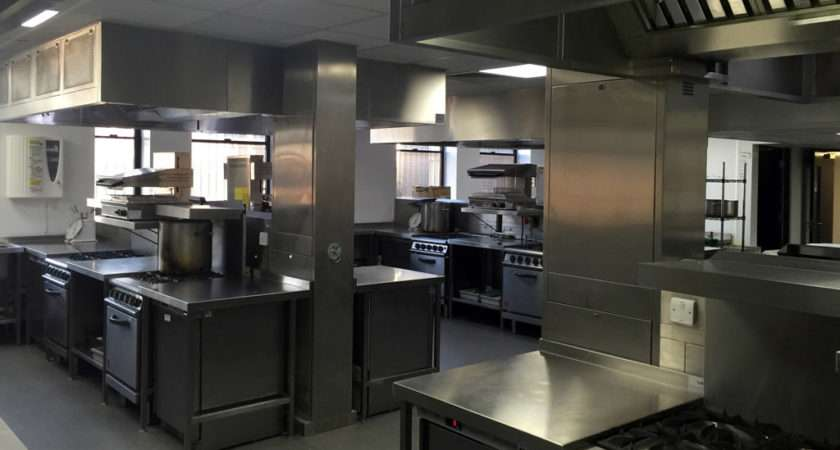 Stainless Steel Training Kitchen Liverpool Anchor