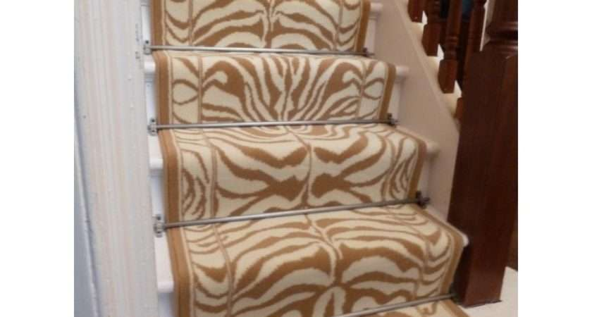 Stair Leopard Runner Custom Carpet