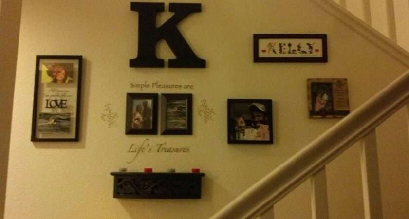 Stairs Wall Decor Home Pinterest