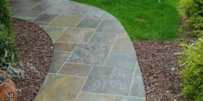 Stamped Concrete Slate Walkway Paver
