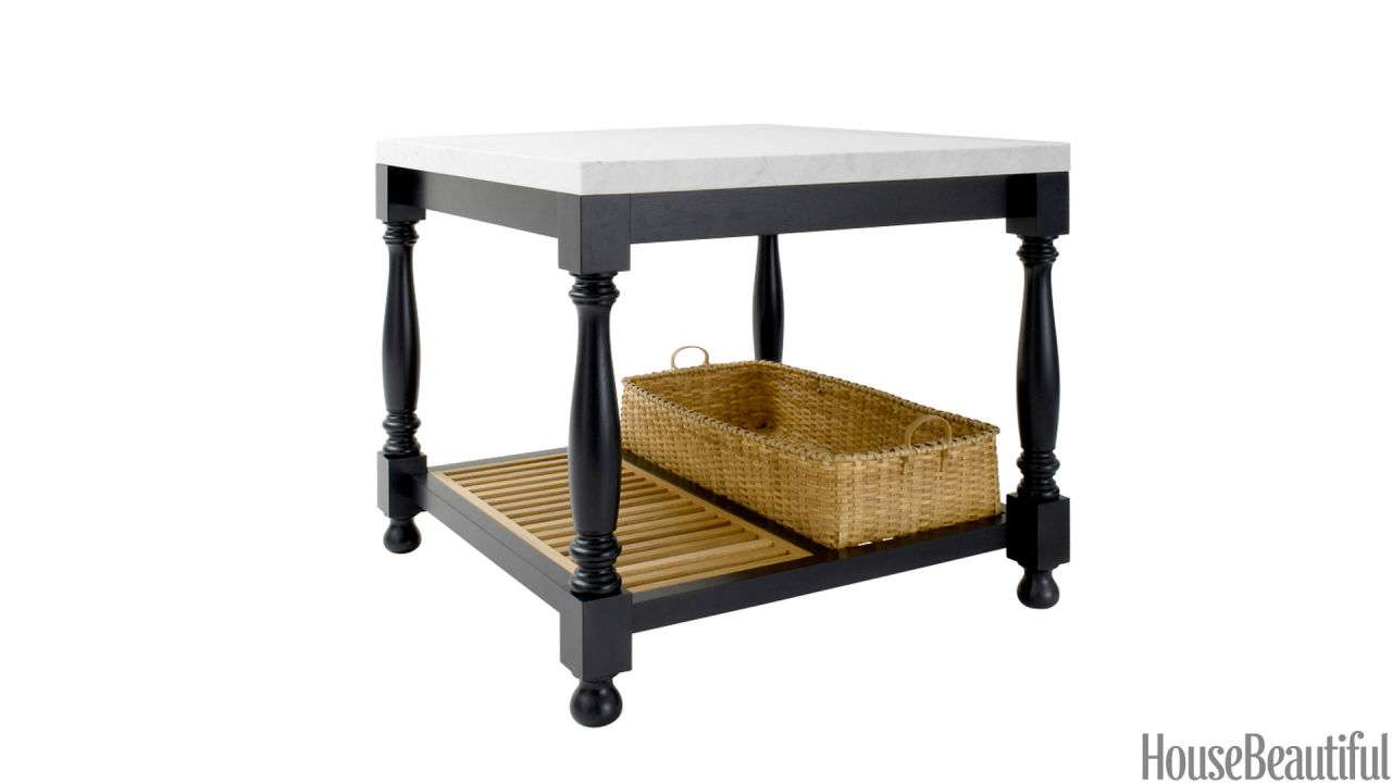 Standing Kitchen Islands Moveable Carts